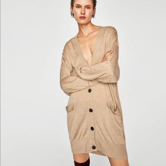 Zara Sweaters - 🔥SALE🔥 Zara Knit oversized cardigan, size S.